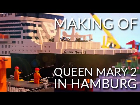 Making of 10 Years Queen Mary 2 in Hamburg