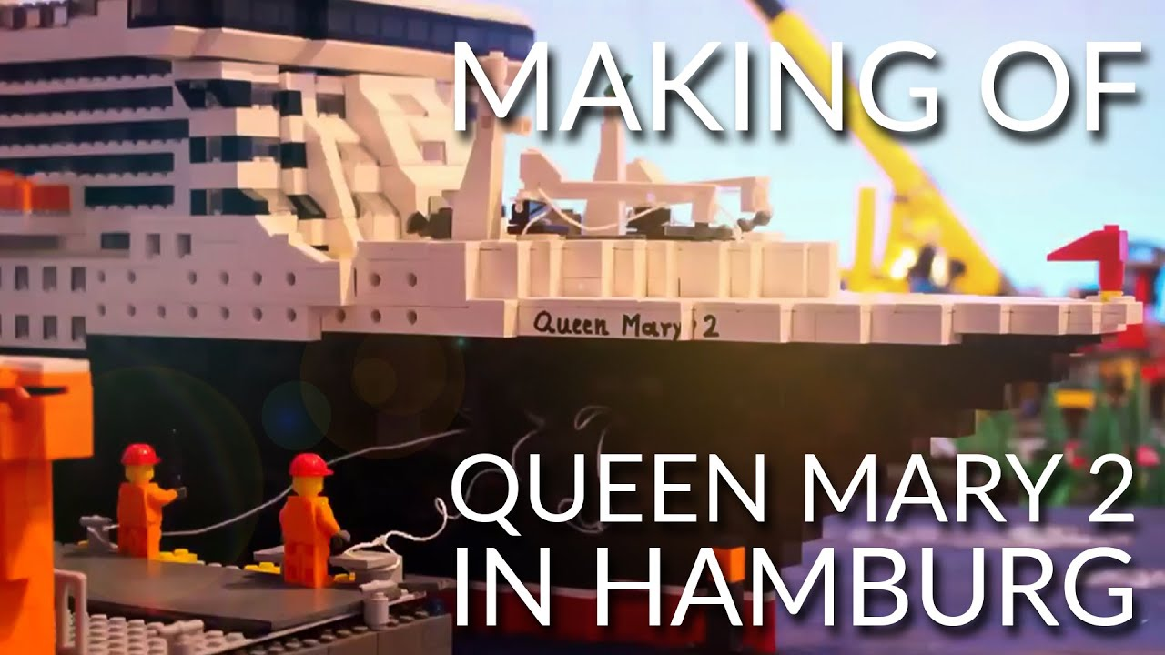 Queen Mary 2 - Making Of