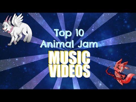 Top 10 Animal Jam Music Videos EVER!