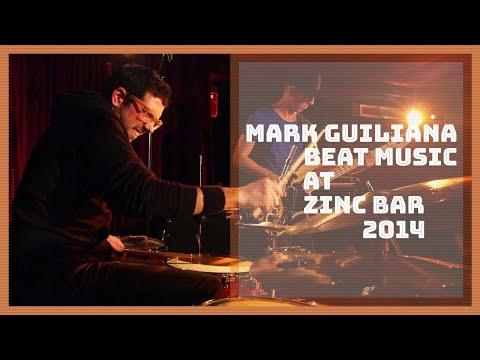 Mark Guiliana 'BEAT MUSIC' at Zinc Bar (NY) - Mark Guiliana drums / Big Yuki keys / Stu Brooks bass