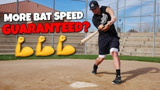 5 Ways To INSTANTLY Increase Bat Speed!! (Hit More Home Runs)