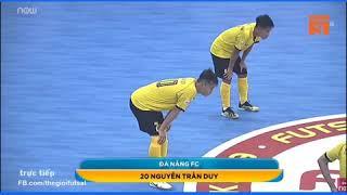 Pivo Trần Duy  vua phá lưới lượt đi giải Futsal Vô Địch QG 2019