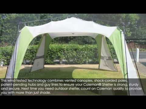 Coleman Instant Event Shelter 14 x 14 & Coleman Instant Event Shelter 14 x 14 - YouTube