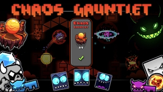 What's In The Basement?! - Chaos Gauntlet - The Lost Gauntlets (Geometry Dash 2.1)