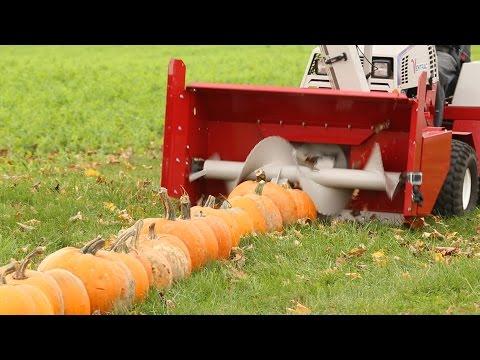 100 Pumpkins Vs Snowblower