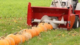 100 Pumpkins vs Snowblower thumbnail