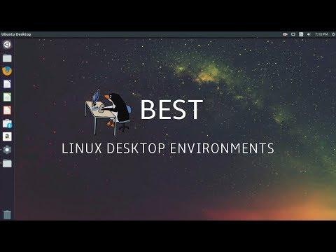 8 Best Linux Desktop Environments