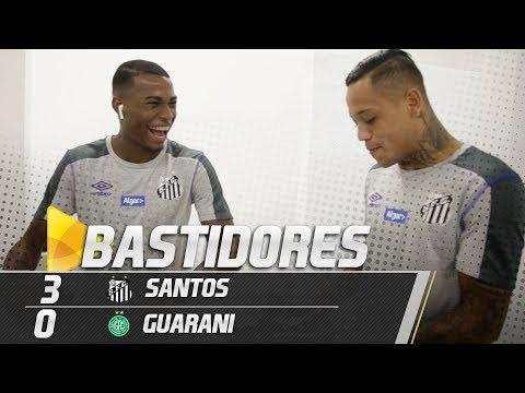 Santos 3 x 0 Guarani | BASTIDORES | Paulistão (18/02/19)
