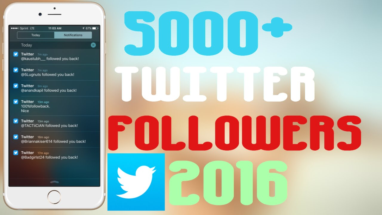 How To Get Thousands Of Followers On TWITTER FOR FREE  Tested And Works