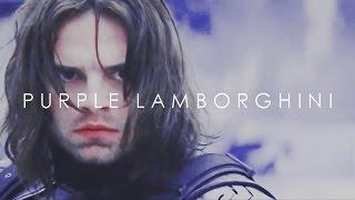 winter soldier    purple lamborghini