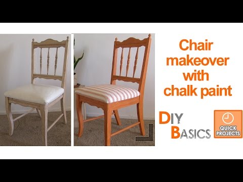 Chair Design Basics Face Down Beach How To Give An Old A New Look With Chalk Paint Diy