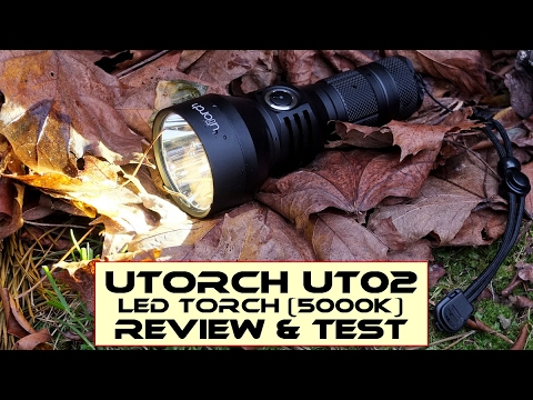UTorch UT02 (18650/26650) LED Torch - Review & Test
