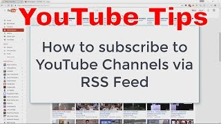 How to monitor YouTube competitors and receive new video notifications using RSS without subscribing