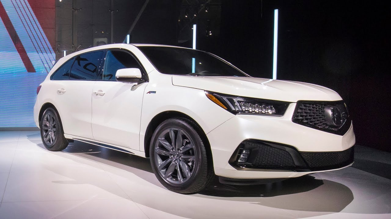 2019 Acura Mdx A Spec Revealed At The New York Auto Show