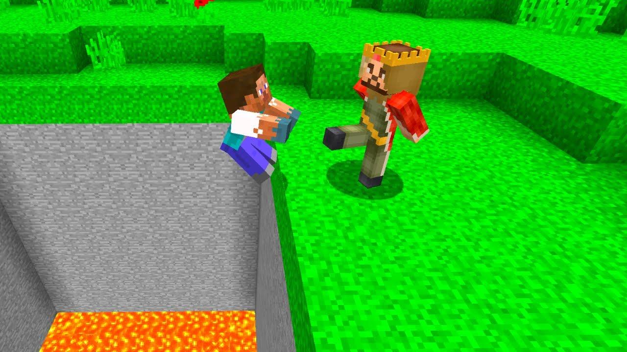 ZENGİN FAKİR'İ TUZAĞA DÜŞÜRDÜ! - 😱 - Minecraft