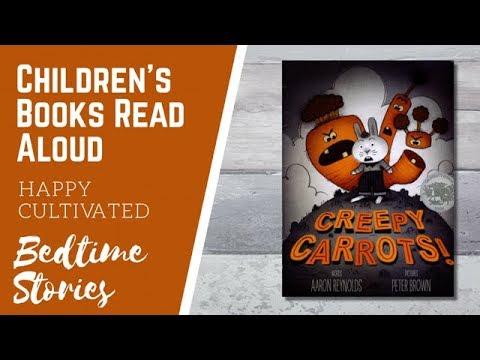 Creepy Carrots Read Aloud | Spooky Kids Story | Halloween Book for Kids |Children's Books Read Aloud