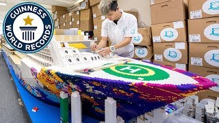 Largest LEGO® ship - Guinness World Records