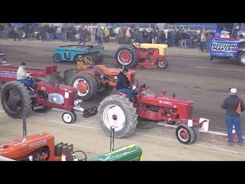Antique Tractor Pulls At Pennsylvania Farm Show Complex In Harrisburg Pennsylvania