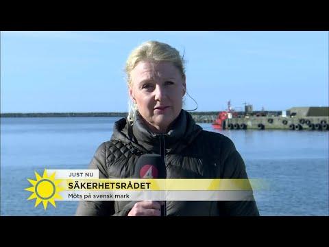 Här möts säkerhetsrådet på svensk mark - Nyhetsmorgon (TV4)