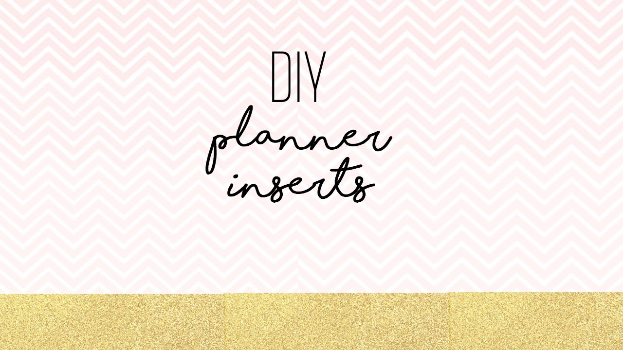 diy planner inserts microsoft word youtube