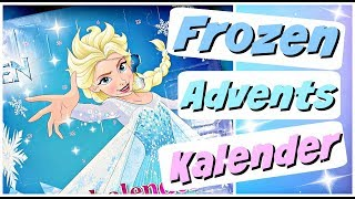 DISNEY FROZEN Adventskalender für Kinder 2018 | Kalender öffnen Advent Calendar