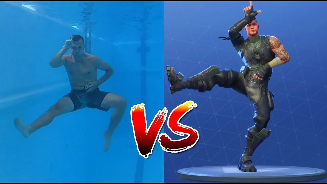FORTNITE DANCE CHALLENGE IN REAL LIFE | Underwater and Extreme Edition -  YouTube