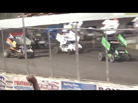 Civil War Series 360 Sprints MAIN 6-18-16 Petaluma Speedway