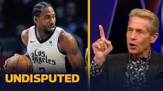 Skip Bayless on why Kawhi Leonard deserves AP Male Athlete of the Year | NBA | UNDISPUTED