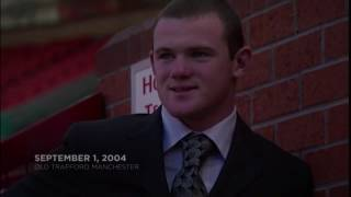 wayne Rooney all 250 goals for manchester united