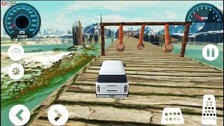 Prado Stunts 3D - Super Car Impossible Tracks Games - Android Gameplay FHD #5