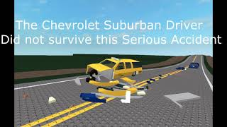[Roblox] Driver Falls Asleep on the Road and Crashes