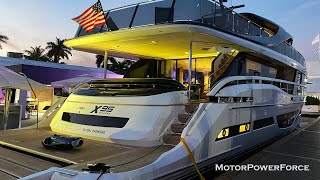 $12 Million Yacht 2022 Princess X95 for 8 Guests + 3 Crew Members Luxury Yacht Tour