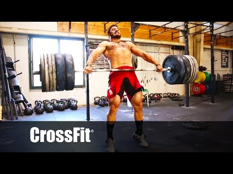Mat Fraser snatches 315 lb.