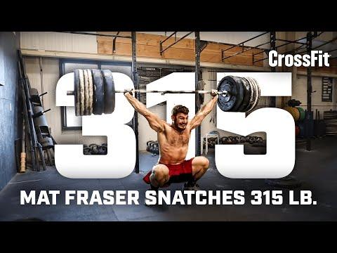 Mat Fraser snatches 315 lb.