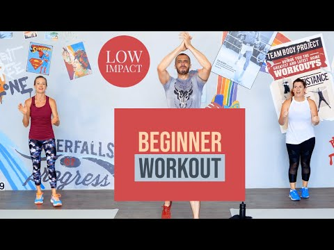 Standing, low impact beginner workout with Team Body Project