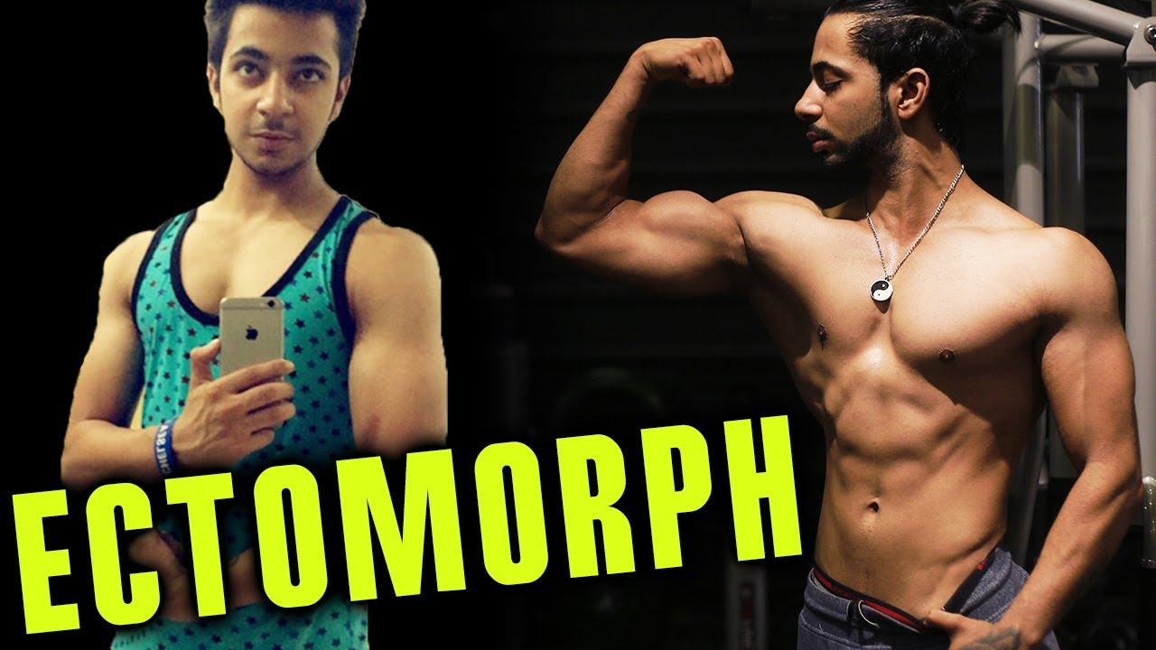 Ektomorph transformation  Insane Ectomorph Natural Skinny