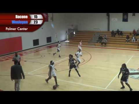 Bacone vs. Texas Wesleyan Woman's Basketball