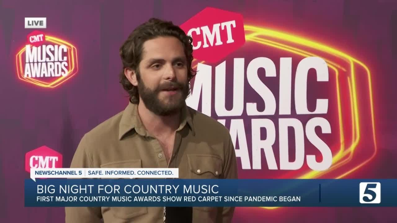 CMT Music Awards 2021: See all the stars on the red carpet