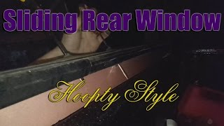 How to Install a Sliding Rear Window on a Ford Truck