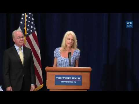 FULL: Press Briefing on Opioids meeting with Secretary of Health and Human Services Tom Price