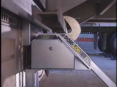 Dok Lok Rotating Hook Vehicle Restraints Rhr Youtube