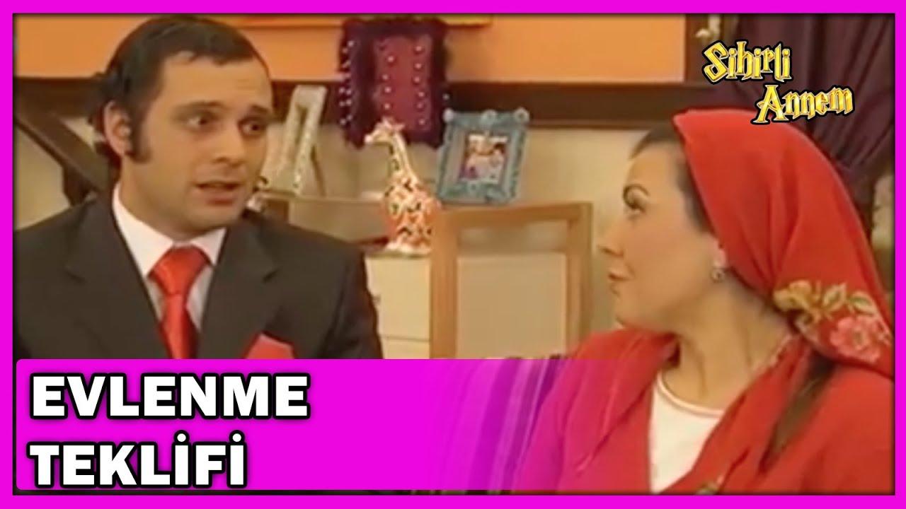 Ali, Firuze'ye Evlenme Teklif Ediyor! - Sihirli Annem 117.Bölüm