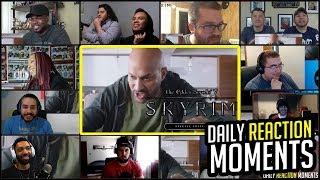 Skyrim: Very Special Edition – Official E3 2018 Trailer Reaction Mashup