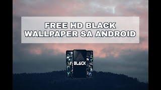 Free Hd Black Wallpaper Sa Android