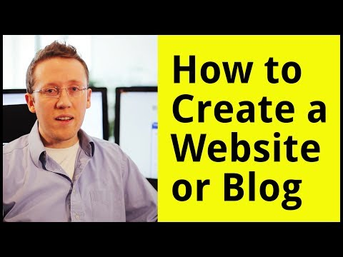 How To Create A Website Or Blog -- A Step-By-Step Guide for Beginners from YouTube · Duration:  6 minutes 40 seconds