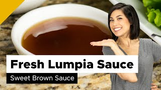 Fresh Lumpia Sauce Recipe (Filipino Food)