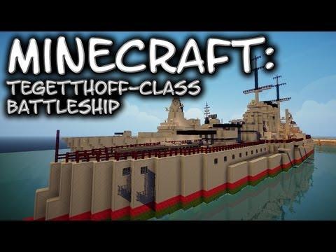 Minecraft: Tegetthoff-class battleship (SMS Szent István)