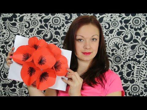 co dát mámě k narozeninám Květinové přání 3D   přání nejen k narozeninám   DiY   YouTube co dát mámě k narozeninám