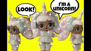 LOL Surprise Dolls ~ 🦄 GG Custom SNOW ANGEL UNICORN ~ Doll Story Video