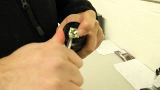 Instructions for Removing the Bottom Bearing Clip from Your Office Chair Shock